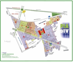 Plot for Sale PIA Housing Society LAHORE