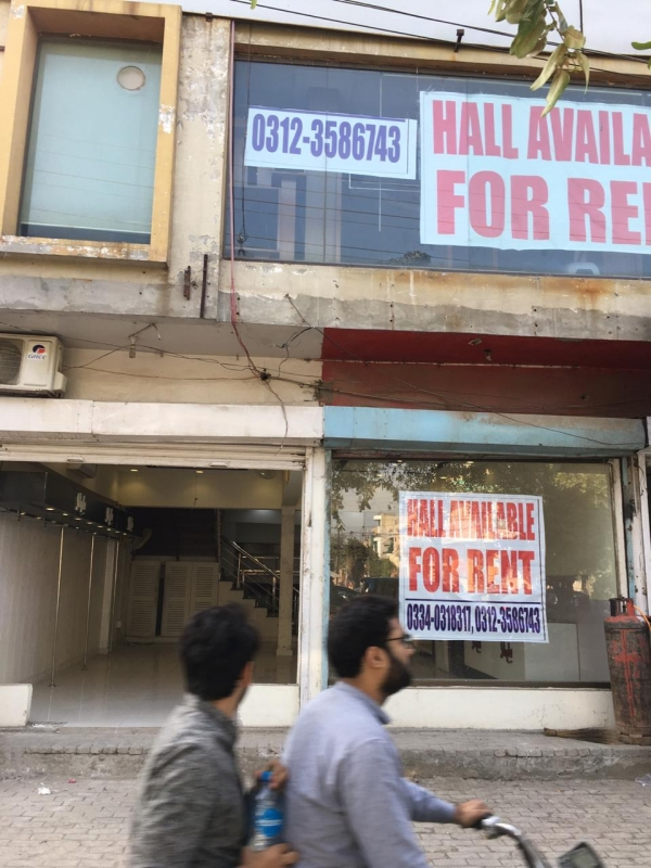 Commercial Available for Rent Johar Town LAHORE