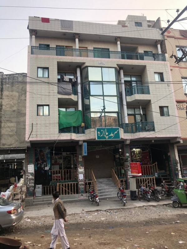 Commercial Available for Sale Gulrez RAWALPINDI Triple story plaza, call for further information
