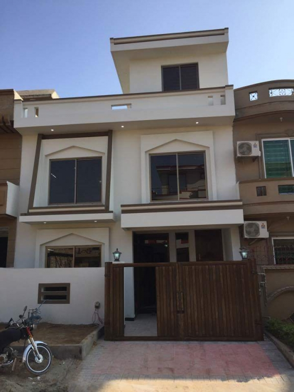 House Available for Sale G-13 Sector ISLAMABAD Front Elevation