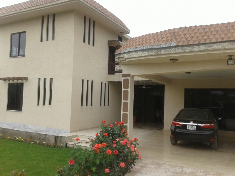 House Available for Sale Simly Dam ISLAMABAD front view
