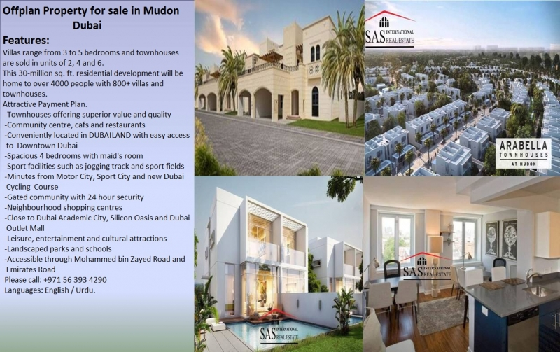 House Available for Sale Other Areas DUBAI villa for sale in Mudon Phase 2