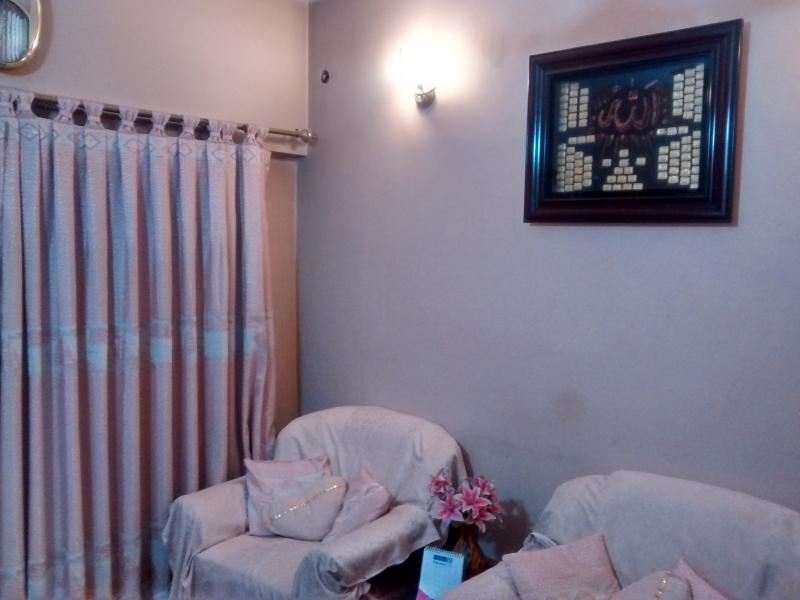 House Available for Sale Gulshan-e-Iqbal KARACHI Drawing Room