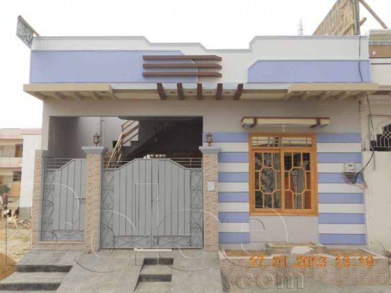 Front Elevation Of 120 Sq Yards House : House in karachi scheme available for sale