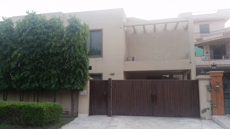 House Available for Sale Johar Town LAHORE Front view