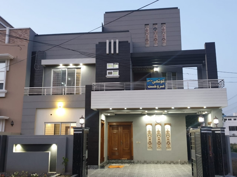 House Available for Sale NFC LAHORE 10 marla brand new house