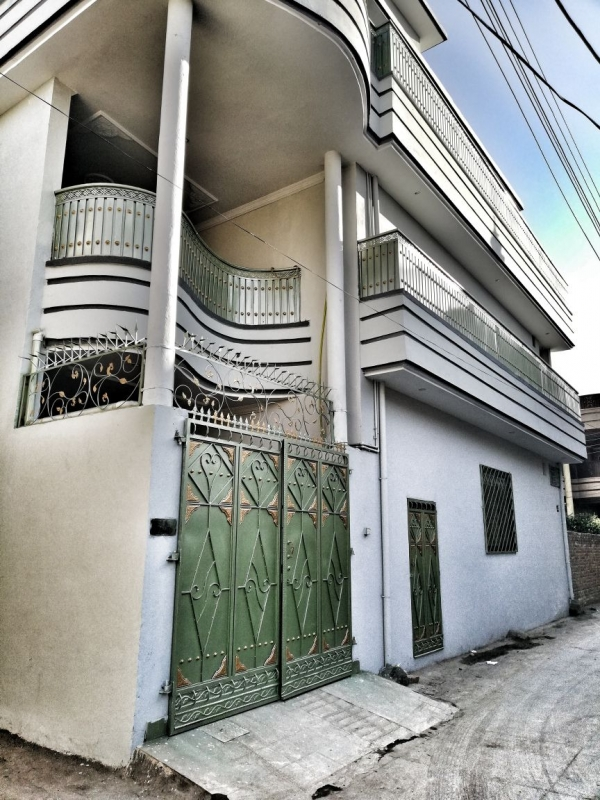 House Available for Sale Takkal payan town PESHAWAR The Front of the House