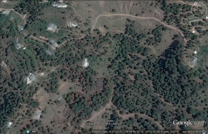 Plot Available for Sale Bagh AZAD KASHMIR exact pic from google earth