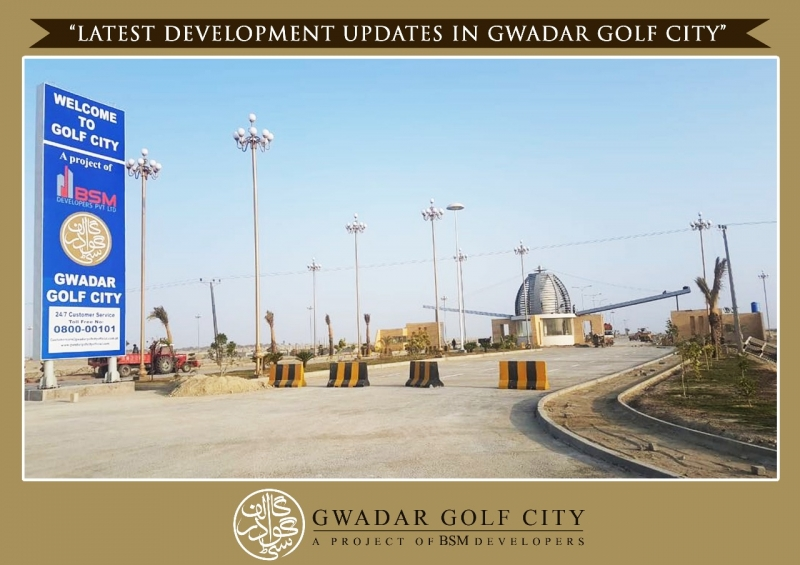 Plot Available for Sale Makran Coastal Highway GAWADAR Gwadar Golf City plots available on easy installments