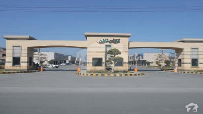 Plot Available for Sale Garden Town GUJRANWALA Our Town Front Side Phase III