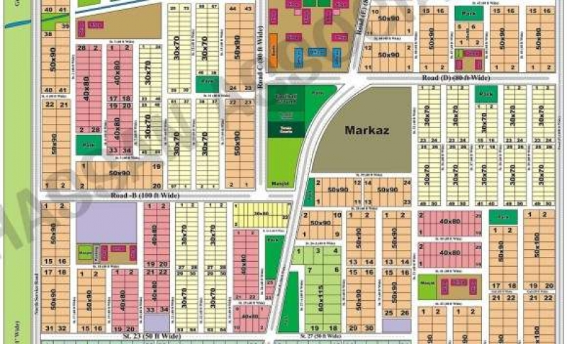 Plot Available for Sale D-17 Sector ISLAMABAD