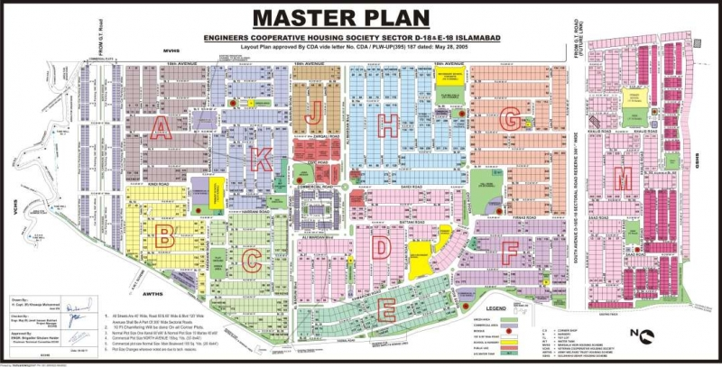 Plot Available for Sale D-18 Sector ISLAMABAD