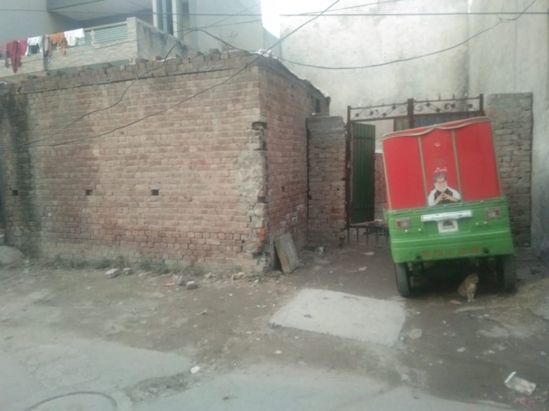 Plot Available for Sale Johar Town LAHORE Front of plot