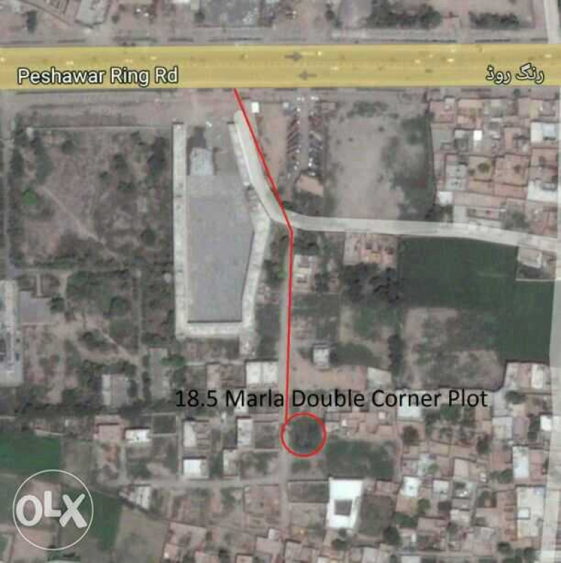 Plot Available for Sale Ring Road PESHAWAR