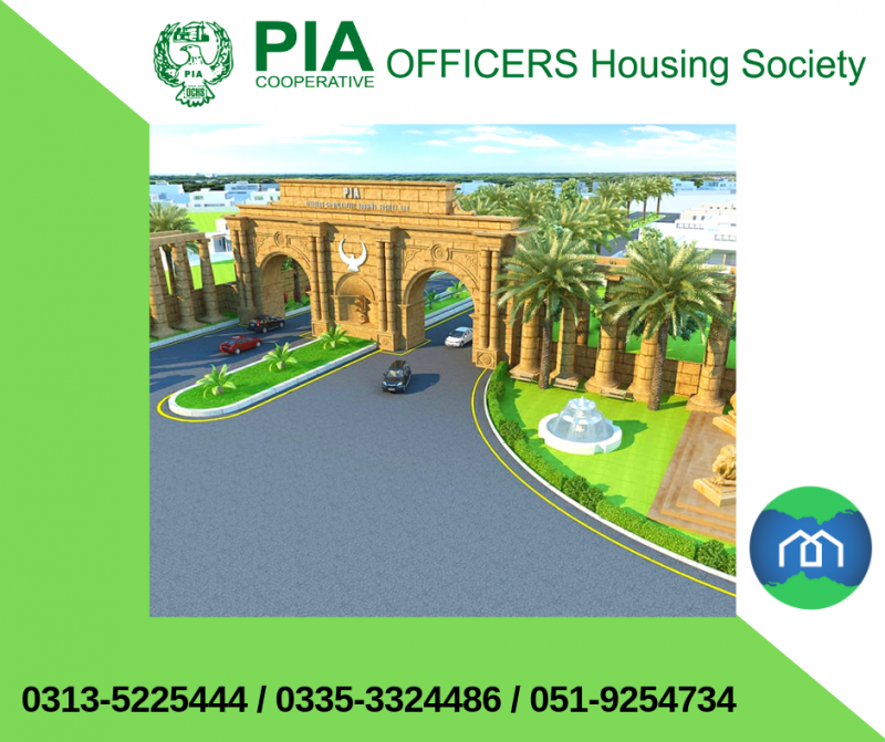 Plot Available for Sale Adiala Road RAWALPINDI PIA Officers Cooperative Housing Society