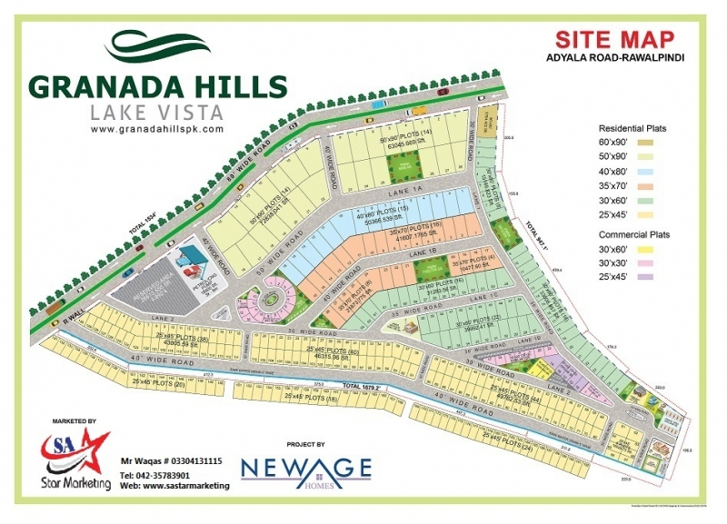 Plot Available for Sale Other Areas RAWALPINDI map
