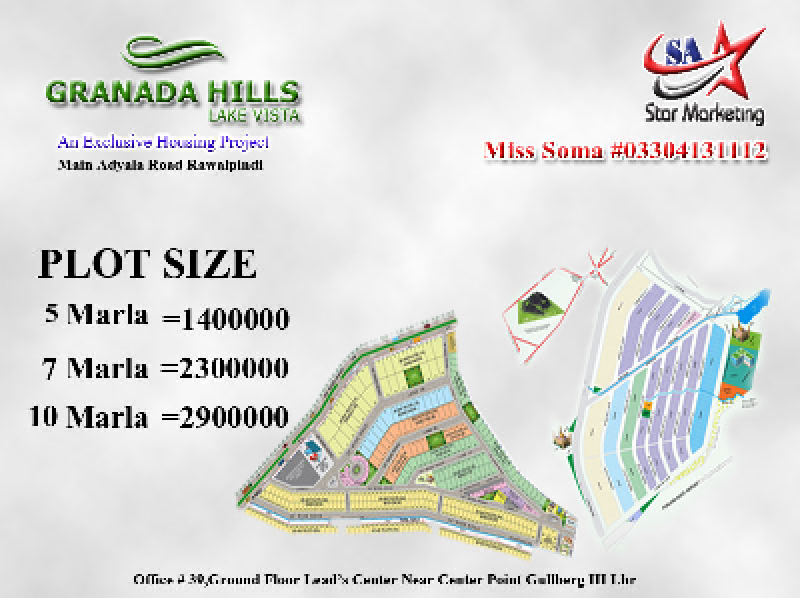 Plot Available for Sale Other Areas RAWALPINDI